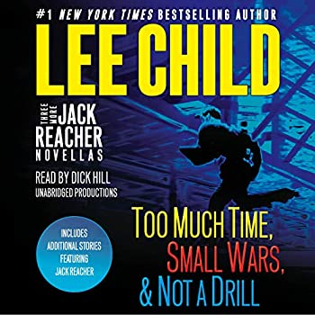 Audio CD Three More Jack Reacher Novellas: Too Much Time, Small Wars, Not a Drill and Bonus Jack Reacher Stories Book