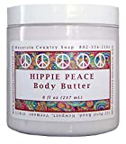 Hippie Peace (Nag Champa) Body Butter, 8 fl.oz