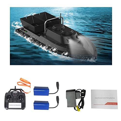 Iwähle Fischfinder Futterboot Baitboat, für Flytec D11 Angeln RC Boot Fishing Bait Boat 2,4 G,High Speed 500m Ferngesteuertes Boot, Fischköder 1.5kg,Hoch W