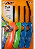 BiC Multi-Purpose Lighter - 4 Lighter Value Pack with 1 Flexible...