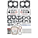MPLUS 99-03 Head Lower Gasket Set with Head Bolts Compatible for 99-03 for Subaru Impreza Forester & 00-03 for Subaru Outback Legacy & 03 for Subaru Baja 2.5L H4 EJ25