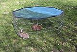 Kerbl Freigehege aus 8 Gittern - 2