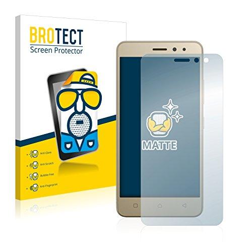 BROTECT 2X Entspiegelungs-Schutzfolie kompatibel mit Lenovo K6 (5.0) Bildschirmschutz-Folie Matt, Anti-Reflex, Anti-Fingerprint