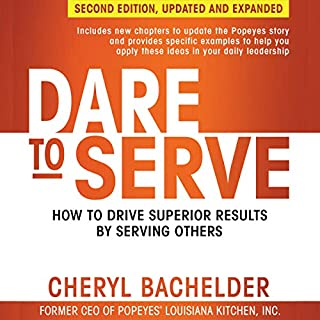 Dare to Serve, Second Edition audiobook cover art