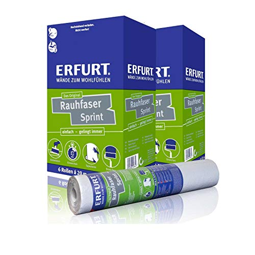 Erfurt Rauhfaser | Sprint - Karton (6 Rollen)