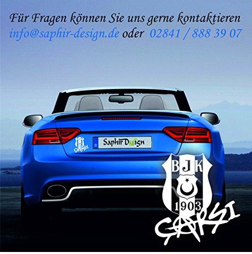 Saphir Design Besiktas Carsi A64 / 11x 10cm Hochleistungsfolie in der Farbe Weiß