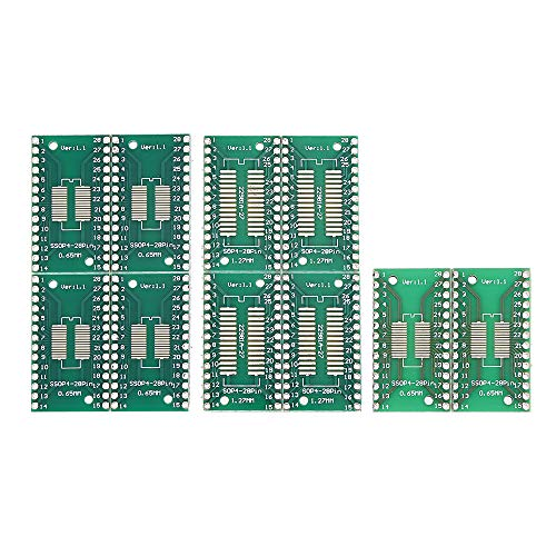 ILS 10 stuks TSSOP28 SSOP28 DIP28 SOP28 PCB Board DIP-adapter Pin Pitch Tip