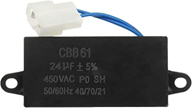 ILS - 24uF Generator Capacitor 24uF CBB61 24 uF 50/60 Hz 400V AC Upto 450V AC UL