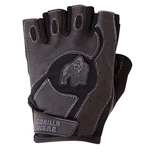 Gorilla Wear Mitchell Training Gloves - schwarz - Bodybuilding und Fitness Accessoires für Damen und Herren, M