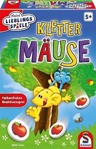 Schmidt Spiele 40587 Klettermäuse, Meine Lieblingsspiele, bunt