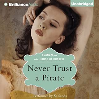Never Trust a Pirate audiobook cover art