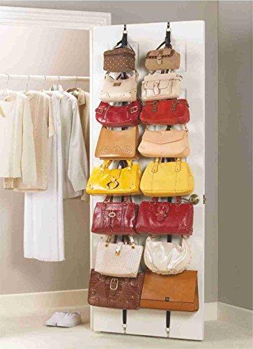 Heim & Büro Handtaschengarderobe Garderobe Taschen Taschenhalter Taschenorganizer