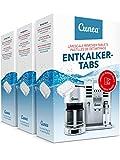 Entkalkungstabs für Kaffeevollautomaten Kaffeemaschine & Kapselmaschine Entkalkungstabletten - 135x...