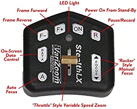 Varizoom VZ-STEALTH-LX Throttle for Variable-Speed Zoom Control (Black)