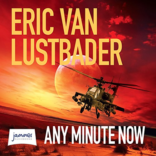 Any Minute Now audiobook cover art