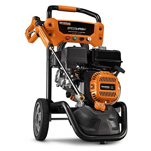 Generac 10000006882 GPW 2900PSI Power Washer SPEEDW, 2900 PSI, Black & Orange