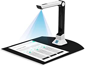 $144 » 8MP Document Camera for Teachers, USB Portable Document Scanners Max A4 Format with Real-time Projection Video Recording F...