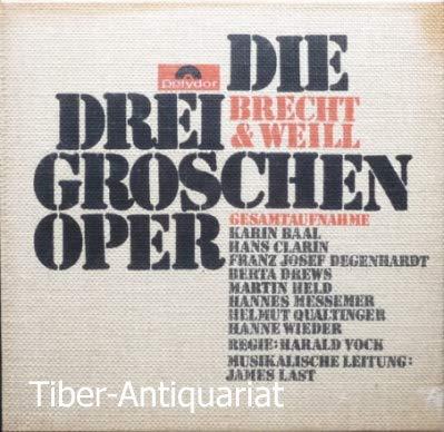 Brecht & Weill: Die Dreigroschenoper (Gesamtaufnahme) [Vinyl Schallplatte] [3 LP Box-Set]