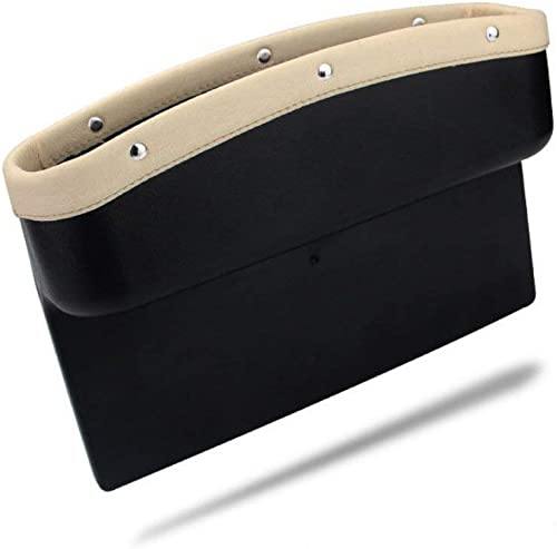 KolorFish Car Seat Pockets Console Gap Side Pocket Car Seat Catcher Organiser Seat Gap Filler Organiser Wallet Mobile...
