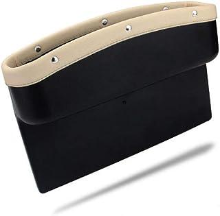 KolorFish Car Seat Pockets Console Gap Side Pocket Car Seat Catcher Organiser Seat Gap Filler Organiser Wallet Mobile Coin...