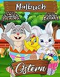 Ostern Malbuch: Ostern 2021 Färbung Sammlung Für Kinder Mit Lustigen Inoffizielle Bilder