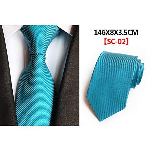 DYDONGWL Krawatten Herren,Holz Fliege,Feste Herren Krawatten Krawatten 8cm Seidenkrawatten für Herren Hochzeitsanzug Kleid Blau Rot Lila Silber Beige Krawatten für Herren