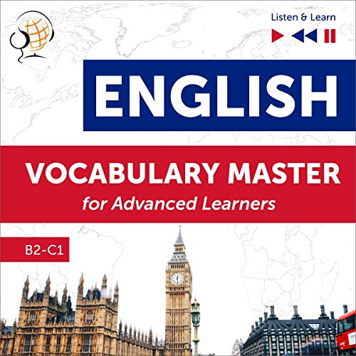 English Vocabulary Master for Advanced Learners cover art