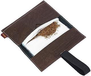 SIMARU Borsello porta tabacco in sughero estremamente stabile portatabacco in sughero borsello portatabacco busta portatab...