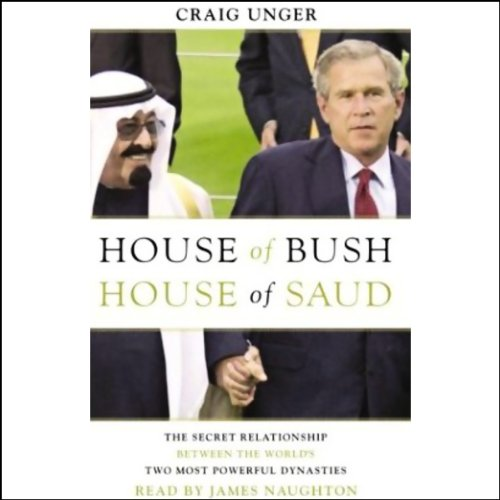 House of Bush, House of Saud audiobook cover art