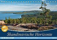 Skandinavische Horizonte (Tischkalender 2022 DIN A5 quer): Weite Blicke und faszinierende Lichtstimmungen (Monatskalender, 14 Seiten )