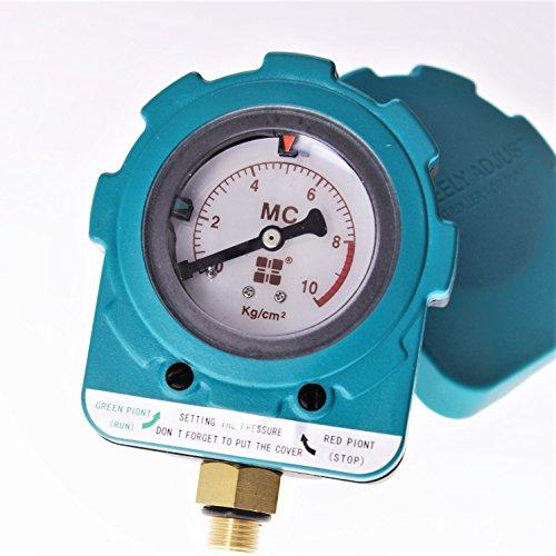 151020 Interrupteur électronique de contrôleur de pression de pompe à eau automatique réglable