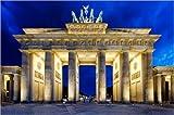 Poster 60 x 40 cm: Berlin - Das Brandenburger Tor von