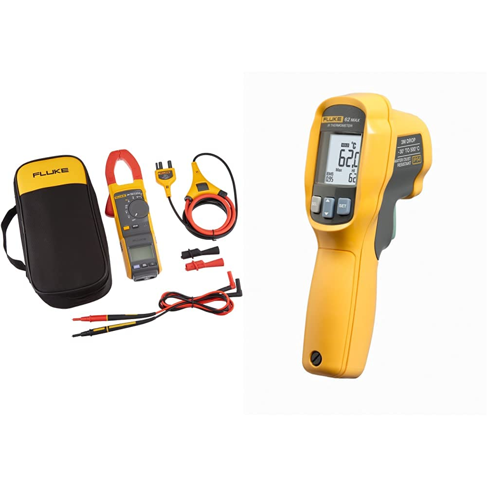 Fluke 381 Max 50% OFF Remote Display True-RMS AC DC iFlex Clamp Meter Limited Special Price with