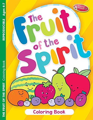 Fruit of the Spirit Coloring/Activity Book (Pack of 6)