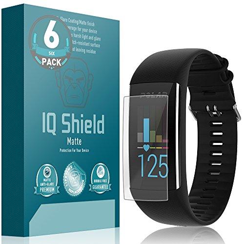IQ Shield Matte Screen Protector Compatible with Polar A370 (6-Pack) Anti-Glare Anti-Bubble Film