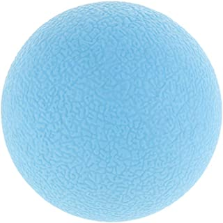 F Fityle Durable PVC Lacrosse Myofascial Massage Ball Single/Peanut Trigger Point Sport Fitness Hand Foot Body Pain Stress...