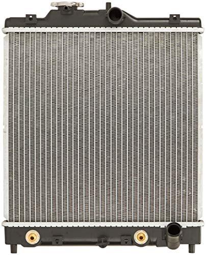 Radiador completo CU1290 da Spectra Premium para Honda Civic e Del Sol