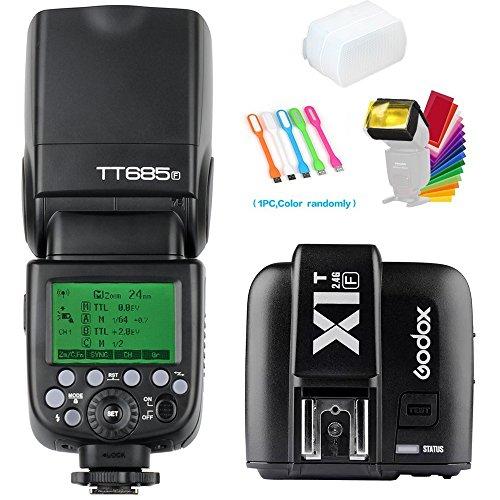 Godox TT685F TTL 2.4G GN60 High-Speed Sync 1/8000S Camera Flash Speedlite Light