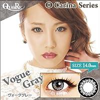 カラコン 度なし 1箱2枚入り QuoRe Carina Series/ソブレ/119223 14.0mm【VogueGray--0.00】