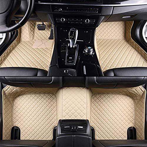 WXHHH Custom Leather Bodenmatten, Für Ford Focus Explorer Mondeo Fiesta C S-Max Mustang Ecosport Everest Rand Tourneo, wasserdichte Anti-Blockier-System