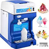 VEVOR 110V Electric Ice Shaver 265lbs/hr with Adjustable Texture 250W Upgrade Tabletop Snow Cone...