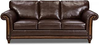 Simmons Upholstery Bonded Leather Queen Hide-A-Bed