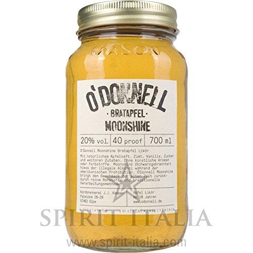 O'Donnell Moonshine Bratapfel Likör 20,00 % 0.7 l.