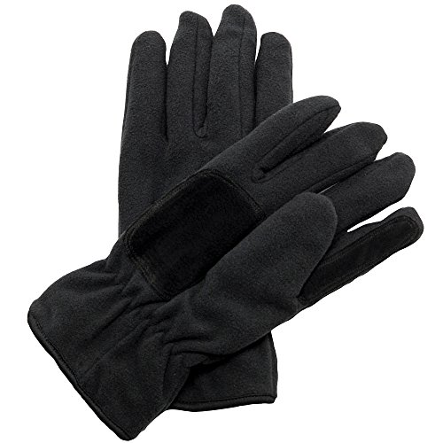 Regatta Unisex Thermo Fleece Winter Handschuhe Thinsulate™ (L/XL) (Schwarz)