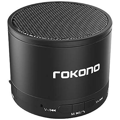 Wireless Bluetooth Speaker, Rokono KB950 Mini Speaker for iPhone, iPad, Samsung, Smartphones and More by Rokono