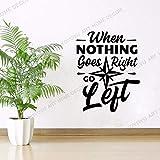 Cuando Todo Va Bien, Let Go Quets Mural De Papel Tapiz De Oficina, Decoración Creativa, Calcomanías De Pared Comerciales, Mural De Decoración De Oficina 36X46Cm