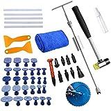 BMOT, set di 49 attrezzi per la riparazione di ammaccature senza vernice, per la rimozione di ammaccature del veicolo, per la grandine, la porta e il frigorifero