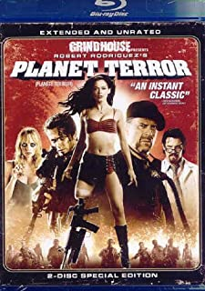 Planet Terror (Extended and Unrated Edition) [Blu-ray] (Bilingual) (B001ILHY5E) | Amazon price tracker / tracking, Amazon price history charts, Amazon price watches, Amazon price drop alerts