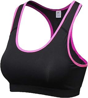 Women High Impact Workout Gym Activewear Bras Racerback Sports Bras