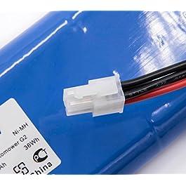 vhbw NiMH Batterie 2000mAh pour Tondeuse à Gazon Robot Tondeuse Husqvarna Automower 210C, 220AC, 230ACX, 260ACX, G2 2004-2006, SH Solar Hybrid